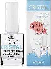 Voňavky, Parfémy, kozmetika Sušiaci povrchový lak na nechty - Constance Carroll Cristal Shine Top Coat