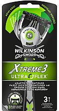 Voňavky, Parfémy, kozmetika Sada jednorazových holiacich strojčekov - Wilkinson Sword Xtreme 3 UltraFlex