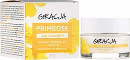 Voňavky, Parfémy, kozmetika Výživný krém s olejom z pupalky - Gracja Semi-oily Cream With Evening Primrose