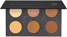 Voňavky, Parfémy, kozmetika Krémová paleta pre kontúrovanie - Zoeva Cream Contour Spectrum Palette