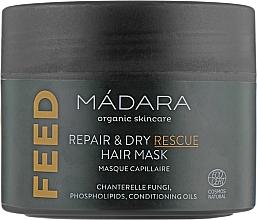 Voňavky, Parfémy, kozmetika Výživná maska na vlasy - Madara Cosmetics Feed Repair & Dry Rescue Hair Mask