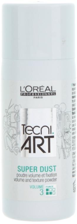 Prášok dodáva vlasom objem - L'Oreal Professionnel Tecni.art Super Dust — Obrázky N1