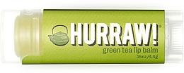 """Voňavky, Parfémy, kozmetika Balzam na pery """"Zelený čaj"""" - Hurraw! Green Tea Lip Balm"""