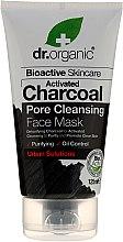 Voňavky, Parfémy, kozmetika Maska na tvár s aktívnym uhlím - Dr. Organic Bioactive Skincare Activated Charcoal Pore Cleansing Face Mask