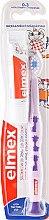 Voňavky, Parfémy, kozmetika Detská zubná kefka (0-3 roky), fialová s žirafou - Elmex Learn Toothbrush Soft + Toothpaste 12ml