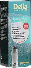 Voňavky, Parfémy, kozmetika Gél-lifting pre pokožku očného okolia - Delia Lifting Roll-On 3D Hyaluron Gel