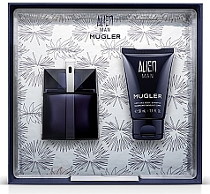 Voňavky, Parfémy, kozmetika Mugler Alien Man Gift Set - Darčeková sada (edt/50ml+b/shm/50ml)