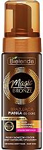 Voňavky, Parfémy, kozmetika Bronzer pena na telo, tmavý odtieň pleti - Bielenda Magic Bronze