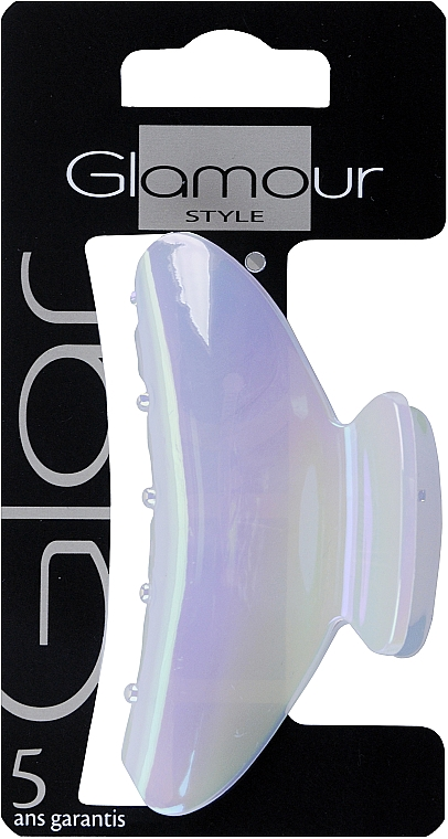 Štipec na vlasy, 417696, modrý - Glamour — Obrázky N1