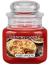 Voňavky, Parfémy, kozmetika Vonná sviečka v pohári - Country Candle Warm Apple Pie