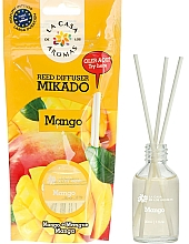 "Voňavky, Parfémy, kozmetika Aromatický difúzor ""Mango"" - La Casa de Los Aromas Mikado Reed Diffuser"