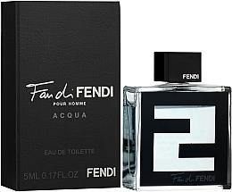 Voňavky, Parfémy, kozmetika Fendi Fan di Fendi pour Homme Acqua - Toaletná voda (mini)