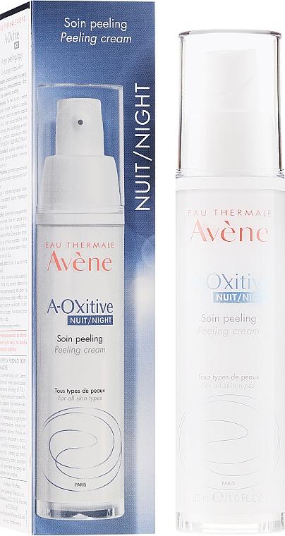 Nočný krénový peeling pre žiarivú pokožku - Avene A-Oxitive Night Peeling Cream — Obrázky N1