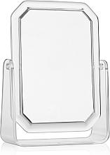 Voňavky, Parfémy, kozmetika Obojstranné obdĺžnikové kozmetické zrkadlo, 19,5 x 14,5 cm - Titania