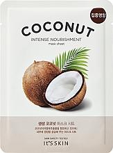 Voňavky, Parfémy, kozmetika Hydratačná textilná maska s kokosom - It's Skin The Fresh Mask Sheet Coconut
