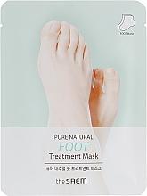Voňavky, Parfémy, kozmetika Maska na nohy - The Saem Pure Natural Foot Treatment Mask