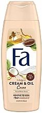 """Voňavky, Parfémy, kozmetika Krém-gél pre sprch """"Kakaové maslo a kokosové"""" - Fa Cacao Butter And Coco Oil"""
