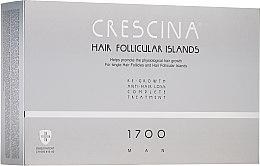 Voňavky, Parfémy, kozmetika Komplex proti vypadávaniu vlasov pre mužov 1700 - Crescina Hair Follicular Islands Man Complete Treatment 1700