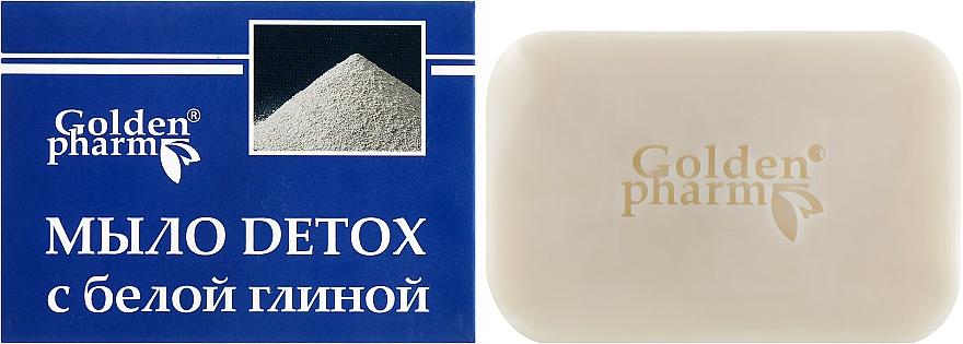 Mydlo s bielou hlinou - Golden Pharm  — Obrázky N1