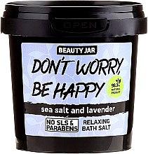 Voňavky, Parfémy, kozmetika Peniaca soľ do kúpeľa - Beauty Jar Don't Worry Be Happy!
