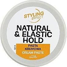 Voňavky, Parfémy, kozmetika Krémová pasta na vlasy - Joanna Styling Effect Natural & Elactic Hold Cream Paste