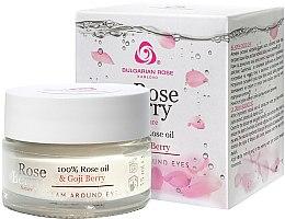 Voňavky, Parfémy, kozmetika Krém pre pleť okolo očí - Bulgarian Rose Rose Berry Nature Cream Around Eyes