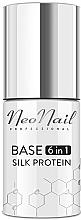 Voňavky, Parfémy, kozmetika Báza pod gélový lak 6 v 1 - NeoNail Professional Base 6in1 Silk Protein