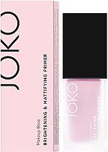 Voňavky, Parfémy, kozmetika Primer - Joko Brightening & Mattifying Primer