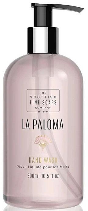 Tekuté mydlo na ruky - Scottish Fine Soaps La Paloma Hand Wash — Obrázky N1