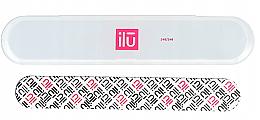 Voňavky, Parfémy, kozmetika Pilník na nechty,v taške - Ilu Nail File With Case Medium 240/240