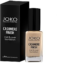 Voňavky, Parfémy, kozmetika Make-up - Joko Cashmere Finish Mat & Cover Foundation