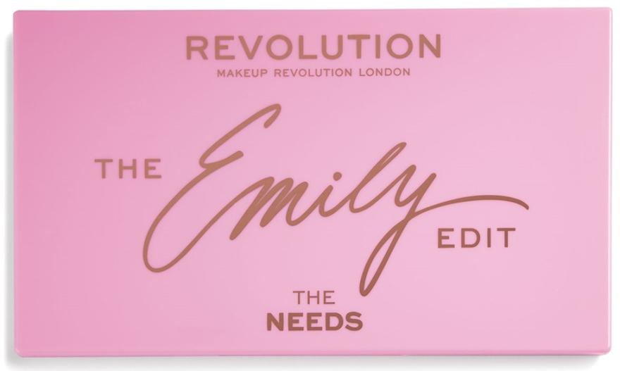 Paleta pre make-up - Makeup Revolution x The Emily Edit The Needs — Obrázky N2