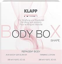 Voňavky, Parfémy, kozmetika Sada - Klapp Repagen Body Box Shape (peel/200ml+b/lot/200ml)