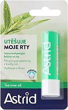 Voňavky, Parfémy, kozmetika Balzam na pery - Astrid Intensive Care Lip Balm And Tea Tree