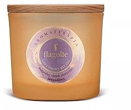 """Voňavky, Parfémy, kozmetika Vonná sviečka v pohári """"Levanduľa"""" - Flagolie Fragranced Candle Lavender Relax"""