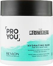 Voňavky, Parfémy, kozmetika Maska na vlasy, hydratačná - Revlon Professional Pro You Hydrating Mask
