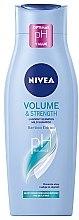 """Voňavky, Parfémy, kozmetika Šampón-starostlivosť """"Objem a starostlivosť"""" - Nivea Hair Care Volume Sensation Shampoo"""