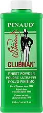 Voňavky, Parfémy, kozmetika Super jemnz biely telový mastenec - Clubman Pinaud Finest Talc Ultra-Fin