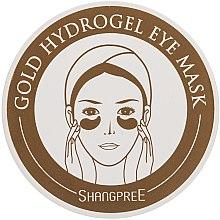 Voňavky, Parfémy, kozmetika Hydrogélová maska, náplasti na pokožku pod oči - Shangpree Gold Hydrogel Eye Mask