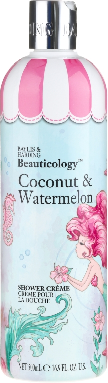"Sprchový krém ""Kokos a melón"" - Baylis & Harding Beauticology Mermaid Shower Cream"