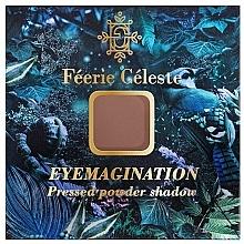Voňavky, Parfémy, kozmetika Lisovaný matný očný tieň - Feerie Celeste Pressed Powder Shadow