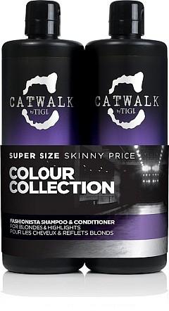 Sada - Tigi Catwalk Fashionista, Blonde (shm/750ml + cond/750ml)