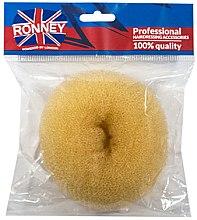 Voňavky, Parfémy, kozmetika Valček na úšes, 11x4.5 cm, béžový - Ronney Professional Hair Bun