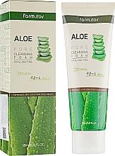 Voňavky, Parfémy, kozmetika Čistiaca pena s extraktom z aloe - FarmStay Pure Cleansing Foam Aloe