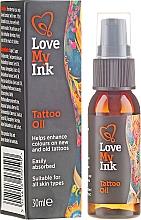 Voňavky, Parfémy, kozmetika Olej pre starostlivosť o tetovanie - Love My Ink Tattoo Oil