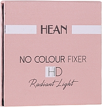 Voňavky, Parfémy, kozmetika Púder na tvár - Hean No Colour Fixer HD Compact Powder