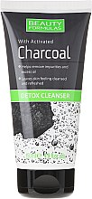 Voňavky, Parfémy, kozmetika Prostriedky pre čistenie pleti tváre s uhlím - Beauty Formulas Charcoal Detox Cleanser