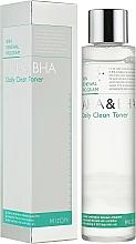 Voňavky, Parfémy, kozmetika Pleťové tonikum - Mizon AHA & BHA Daily Clean Toner
