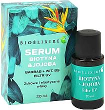"""Voňavky, Parfémy, kozmetika Vlasové sérum """"Biotín a jojoba"""" - Bioelixire Serum Biotin & Jojoba"""