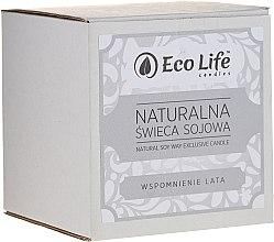 """Voňavky, Parfémy, kozmetika Vonná sviečka """"Spomienky na leto"""" - Eco Life Candles"""